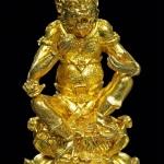 สี่หูห้าตา เนื้อทองระฆัง ก้นอุดผงฝั่งโค๊ดทองระฆัง ครูบาอริยชาติ