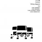 หนังสือ คู่มือซ่อม วงจรไฟฟ้า Wiring diagram Trucks Group 37 Release 01 FH CHID A698436, CHID B564590, CHID W100620–754005, CHID CKD891518 (ข้อมูลทั่วไป ค่าสเปคต่างๆ วงจรไฟฟ้า วงจรไฮดรอลิกส์)