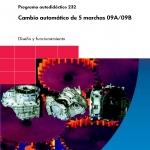 CD คู่มือการซ่อม เกียร์ เกียร์อัตโนมัติ 5สปีด 09A/09B VOLKSWAGEN