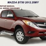 CD คู่มือซ่อม WIRING DIAGRAM Mazda BT-50 Pro 2012