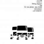 หนังสือ วงจรไฟฟ้า Wiring diagram Trucks Group 37 Release 01 FM, FH, VAL-BAS4, VAL-CHD2 ( วงจรไฟฟ้า วงจรไฮดรอลิกส์)