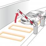 การเลือก sensor ของระบบไม้กั้นรถยนต์