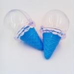 แพคเกจไอติมพลาสติกน่ารัก สำหรับใส่ขนมหรือของเล่น สีฟ้าราคาสินค้าต่อแพครวมค่านำเข้าแต่ไม่รวมค่าจัดส่งในไทย