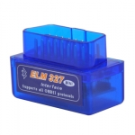 ELM327 OBD-II MINI Bluetooth (สีฟ้า)