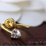 แหวนเรียกทรัพย์หุ้มทองคำแท้