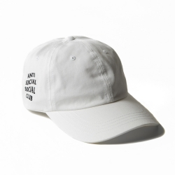 หมวก Anti Social Social Club x Weird Cap (White)