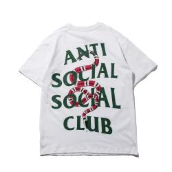 เสื้อ Anti Social Social Club x Gucci Snake T-Shirt