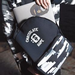 (พร้อมส่ง) กระเป๋า Chocoolate x AAPE by A Bathing Ape Digital Camo Backpack
