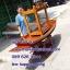 เรือไม้เนื้อแข็ง ไม้เต็ง ยาว 250 ซม แถมป้ายไม้มงคล (ส่งทั่วประเทศ) thumbnail 1