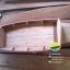 เรือไม้เต็ง ไม้เนื้อแข็ง เรือก๋วยเตี๋ยว ยาว 120 ซม (ส่งทั่วประเทศ) thumbnail 4