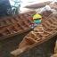เรือไม้ยมหิน 400 ซม ชันยาเรือ ลงน้ำพายได้เลย แถมไม้พาย (ส่งทั่วประเทศ) thumbnail 3