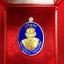 เหรียญ เจริญพร ไตรมาส57 เนื้อเงินลงยาน้ำเงินหน้ากากทองคำ หลวงปู่สงฆ์ วัดบ้านทราย thumbnail 3