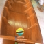 เรือไม้สัก เรืออีแปะ 350 ซม ชันยาเรือ ลงน้ำพายได้เลย แถมไม้พาย (ส่งทั่วประเทศ) thumbnail 2