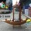 เรือสำปั้น 100 ซม ไม้สักทอง มีแท่นรองตู้ พร้อมขาตั้ง ไม้พาย แถมป้ายมงคล (ส่งฟรีทั่วประเทศ) thumbnail 10