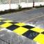 ยางชะลอความเร็ว แบบใหญ่ สีเหลืองดำ 50x50x6 cm thumbnail 3