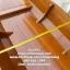 เรือไม้ตะเคียนทอง 400 ซม ชันยาเรือ ลงน้ำพายได้เลย แถมไม้พาย (ส่งทั่วประเทศ) thumbnail 4