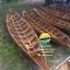 เรือไม้ยมหิน 400 ซม ชันยาเรือ ลงน้ำพายได้เลย แถมไม้พาย (ส่งทั่วประเทศ) thumbnail 1