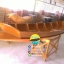 เรือไม้สัก เรืออีแปะ 350 ซม ชันยาเรือ ลงน้ำพายได้เลย แถมไม้พาย (ส่งทั่วประเทศ) thumbnail 4