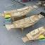 เรือสำปั้น 100 เมตร ไม้สักทอง พร้อมขาตั้ง ไม้พาย แถมป้ายมงคล (ส่งฟรีทั่วประเทศ) ไม่ทาสี thumbnail 2