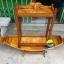 เรือสำปั้น 150 ซม ไม้สักทอง พร้อมขาตั้ง ไม้พาย แถมป้ายมงคล พร้อมตู้ สีสักทอง (ส่งฟรีทั่วประเทศ) แถมชุดว่ายน้ำ thumbnail 9