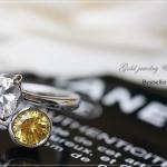แหวนเรียกทรัพย์ หุ้มทองคำขาว