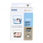 ชุดตลับหมึก 4สี + กระดาษโฟโต้ EPSON ขนาด 4x6นิ้ว สำหรับเครื่อง EPSON PM245,PM310 รหัส T5852