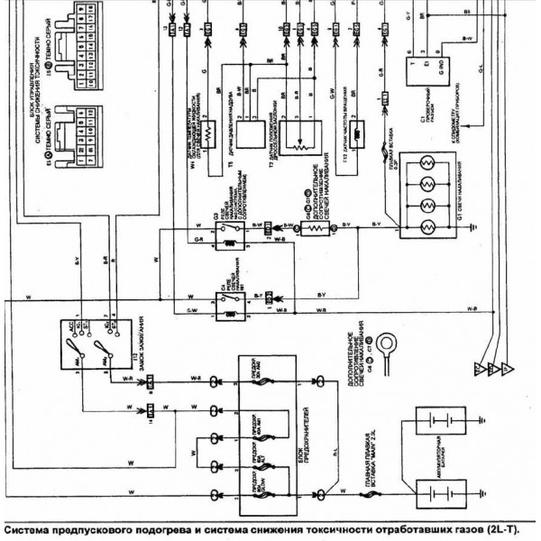 cd wiring diagram toyota hilux surf 1kz-t  2l-t