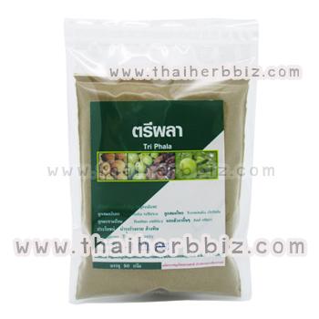 ตรีผลาผง จิรวรรณสมุนไพร (50 กรัม)