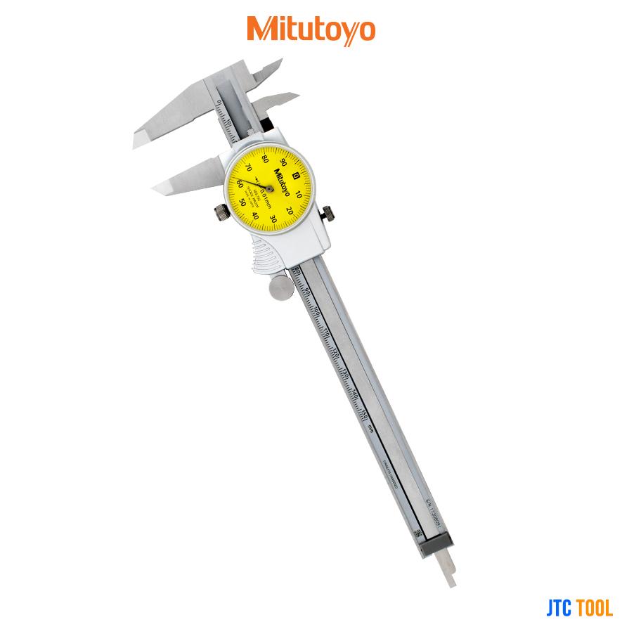 เวอร์เนีย ไดอัลคาลิปเปอร์ - Vernier Dial Calipers (Series 505) Mitutoyo