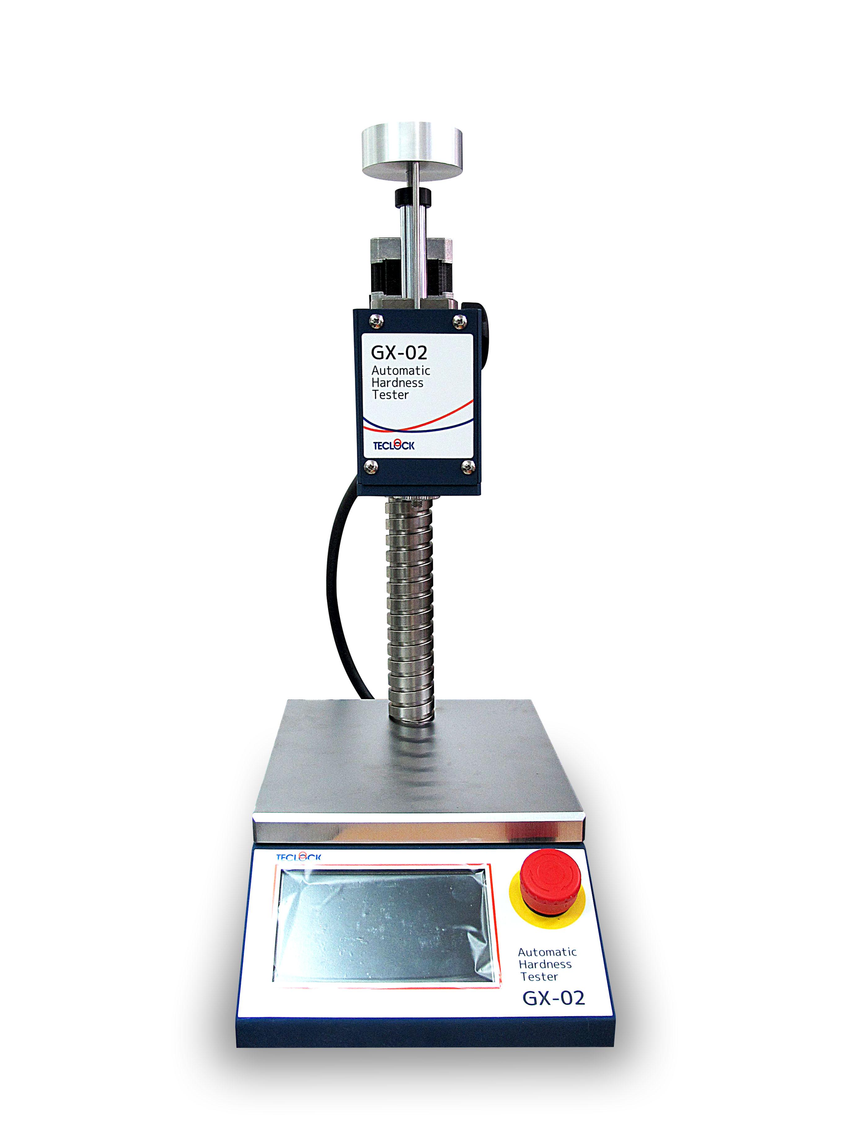 เครื่องทดสอบความแข็งยาง - Automatic Hardness Tester (GX-02 Series) Teclock