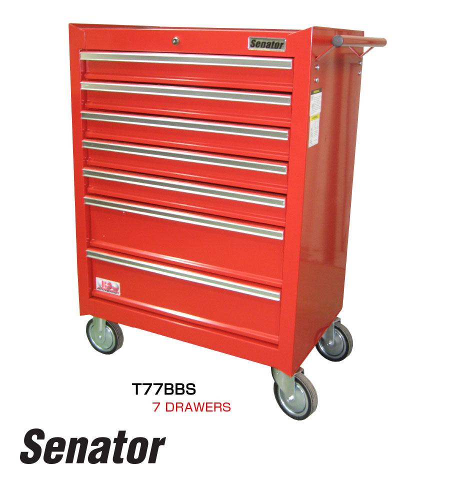 รถเข็นเก็บเครื่องมือ 7 ลิ้นชัก / 7 Drawers Tool Trolley (Senator)