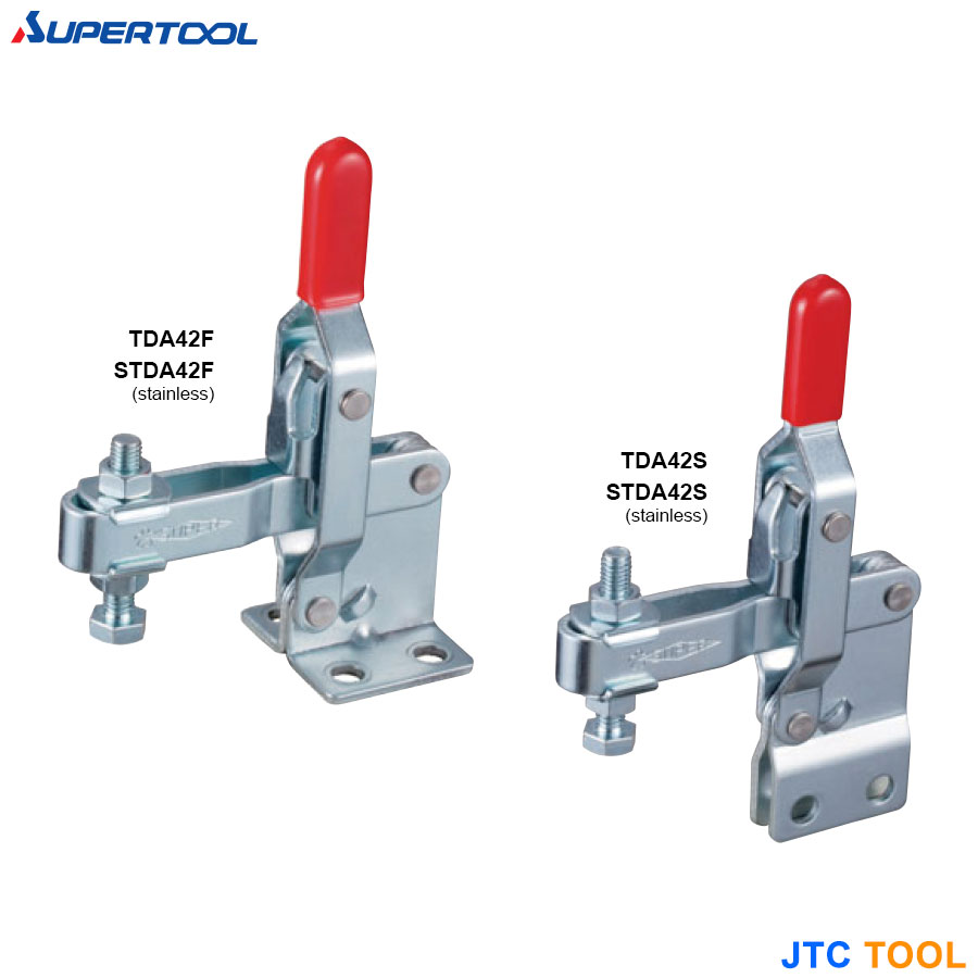 TOGGLE CLAMP 94° (Vertical Handle Type) / แคล้มนก (แนวตั้ง)