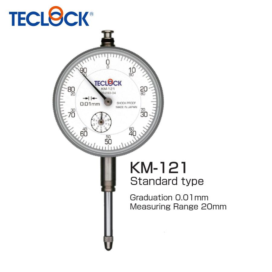 ไดอัลเกจวัดความเรียบ / Dial Indicator (KM-121) Teclock