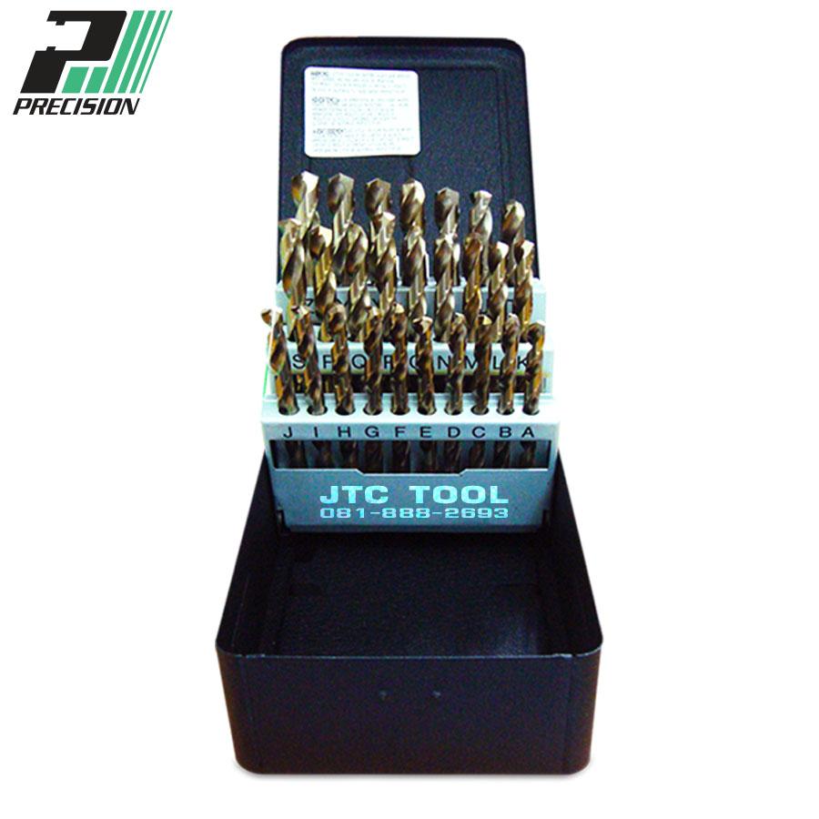 ชุดดอกสว่านแบบโคบอลไฮสปีด / Drill set HSS-Cobalt (90292) Precision