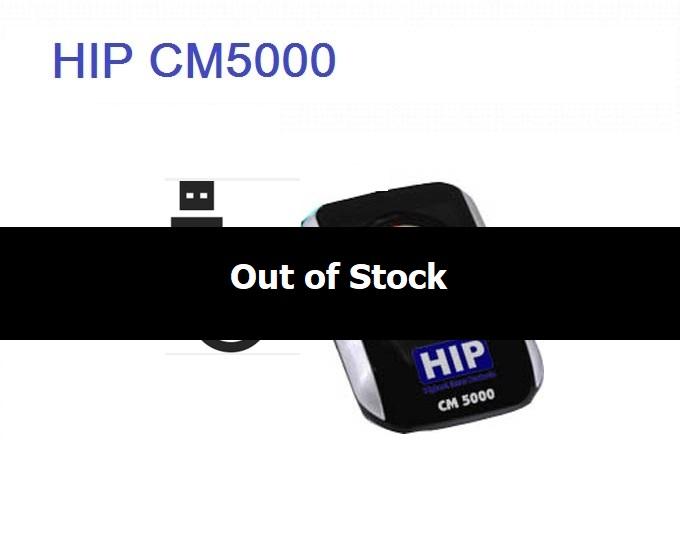 เครื่องสแกนลายนิ้วมือ HIP CM5000