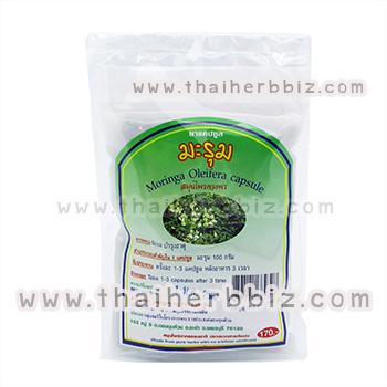 ยาแคปซูลมะรุม สมุนไพรดวงพร (ถุง)
