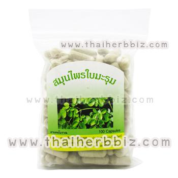 ใบมะรุมแคปซูล หมอสิงห์ (100 แคปซูล แบบถุง)