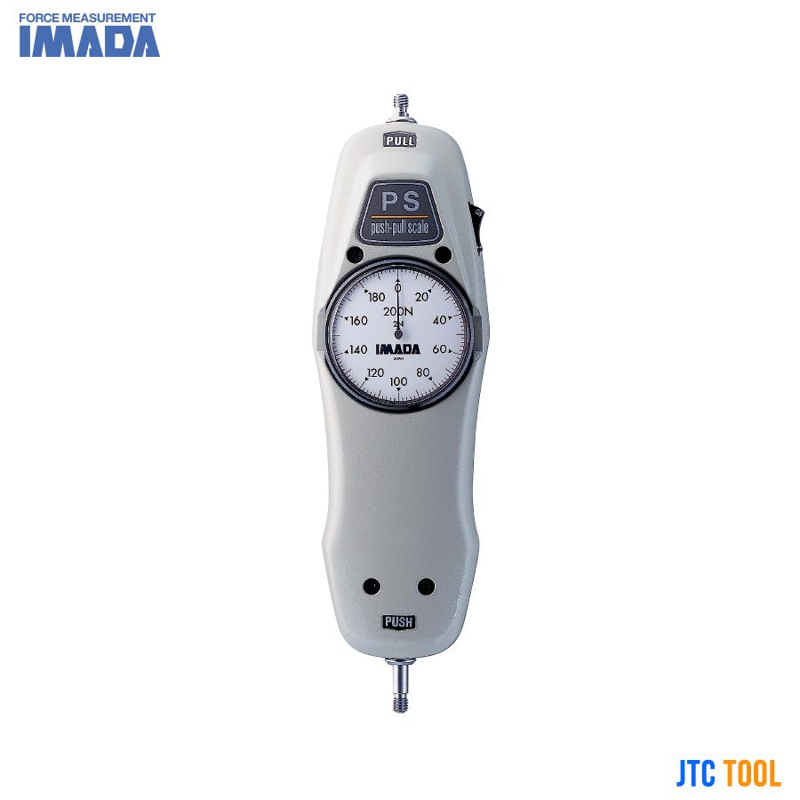 เกจวัดแรงดึง-แรงดันแบบเข็ม - Mechanical Force Gauges (PS/PSS Series) IMADA