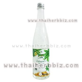น้ำมันมะพร้าวสกัดเย็น เนเจอร์ไลฟ์ GM (750 มล.)