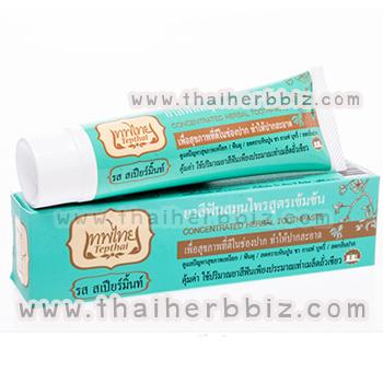 ยาสีฟันเทพไทย รสสเปียร์มิ้นท์ (แบบหลอด 70 กรัม) กล่องเขียว