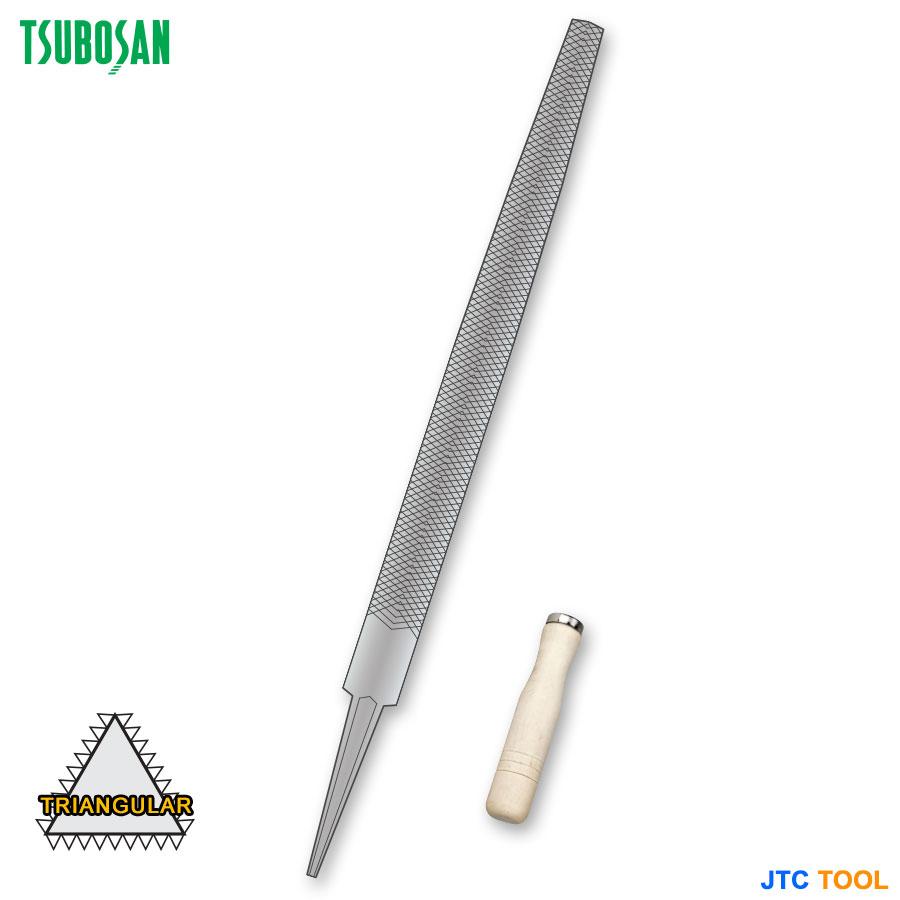 ENGINEER'S FILES-TRIANGGULAR (ตะไบ-สามเหลี่ยม) TSUBOSAN