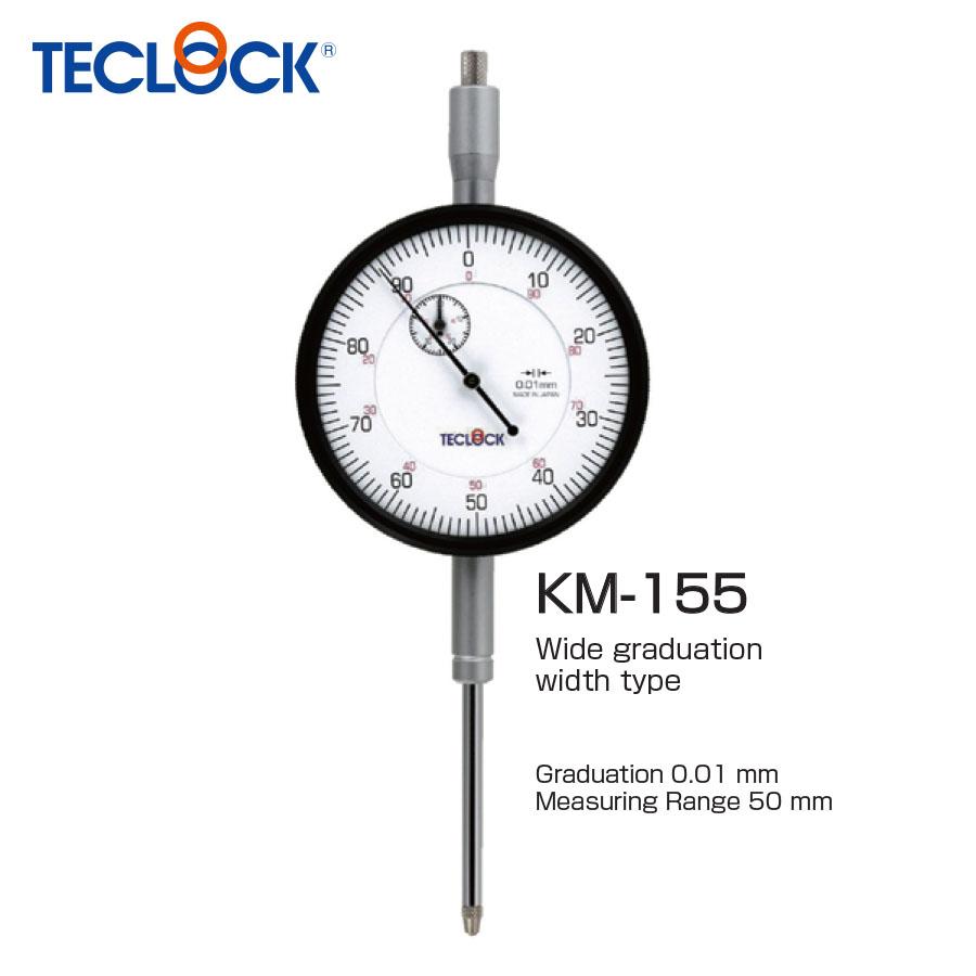 ไดอัลเกจวัดความเรียบ / Dial Indicator (KM-155) Teclock