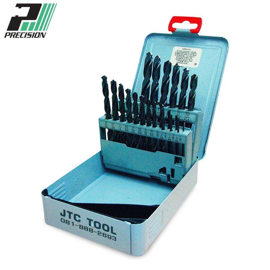 ชุดดอกสว่านแบบไฮสปีด / Drill set HSS (99980) Precision