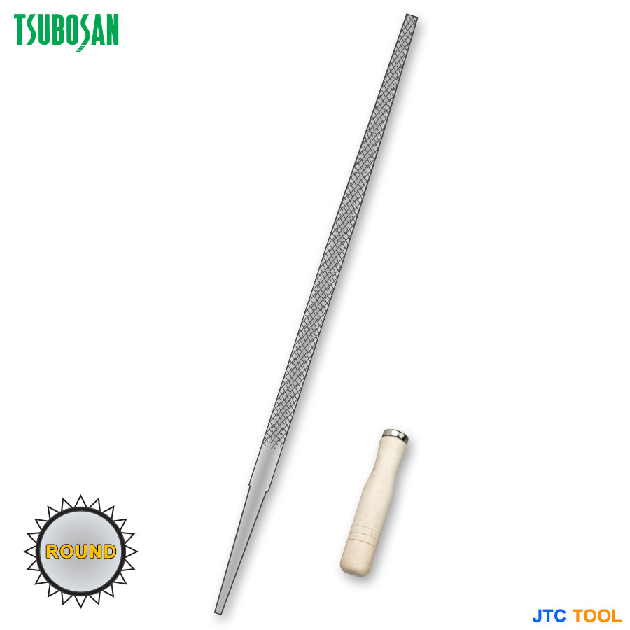 ENGINEER'S FILES-ROUND (ตะไบ-กลม) TSUBOSAN