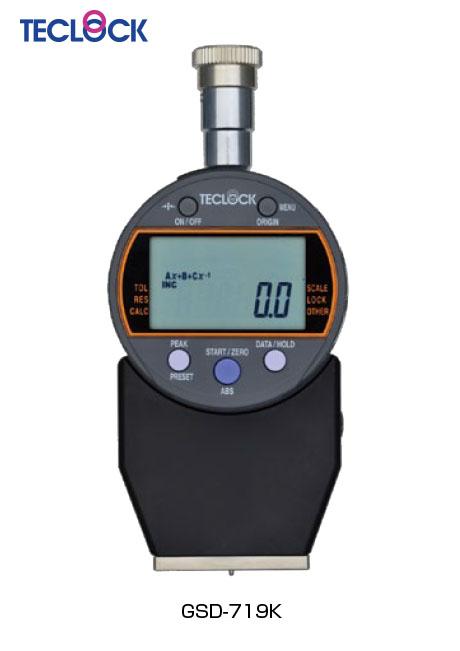 เกจวัดความแข็งยาง ดิจิตอล - Digital Durometer (GSD-719K) Teclock
