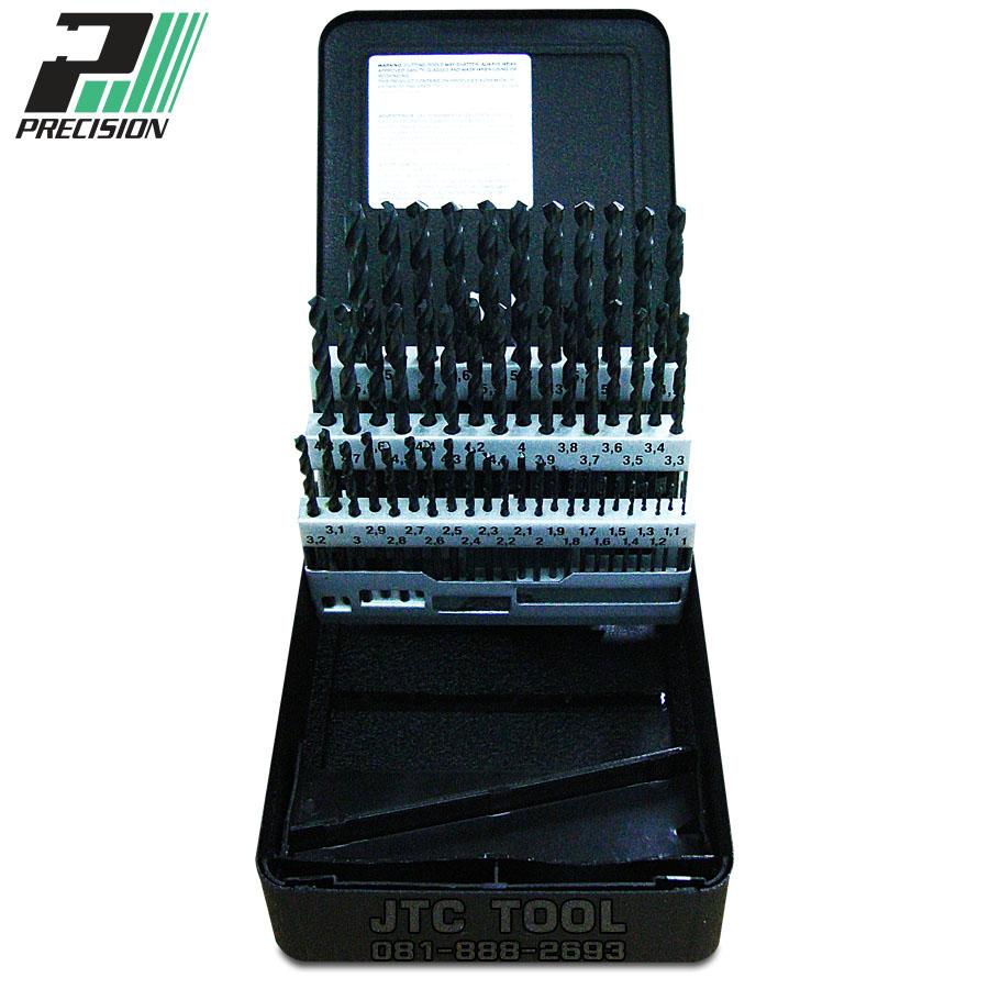 ชุดดอกสว่านแบบไฮสปีด / Drill set HSS (99985) Precision