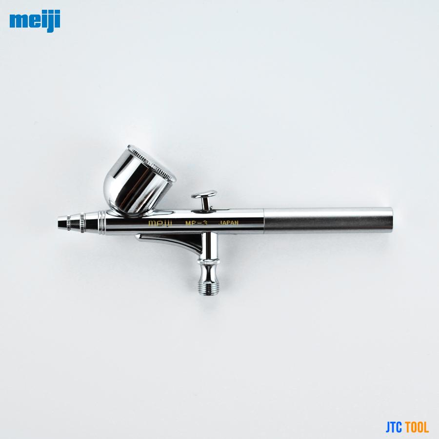 ปากกาพ่นสี แบบมีถ้วยบน - PIECE GUNS (รุ่น MP-3) MEIJI