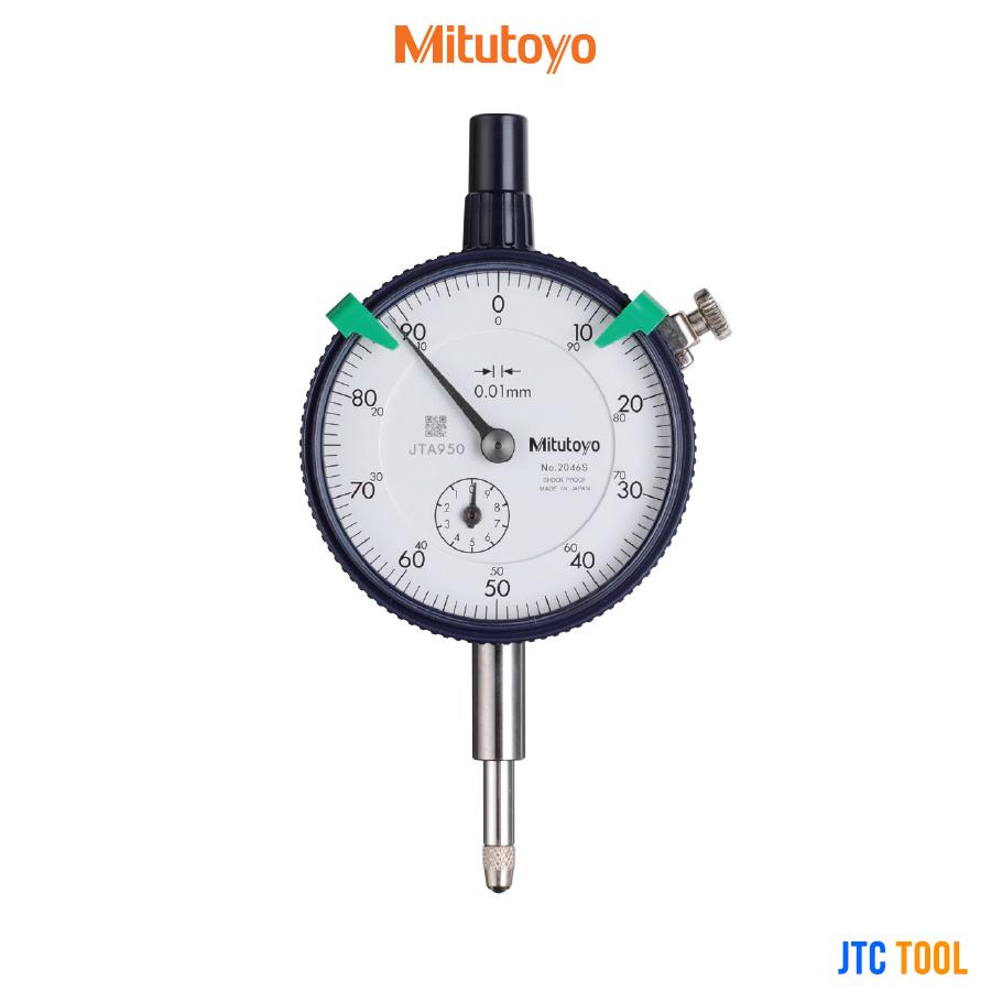 ไดอัลเกจวัดความเรียบพื้นผิว - Dial Indicators Standard Type (2046S) Mitutoyo