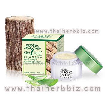 ครีมทานาคา เดอลีฟ ทานาคา มอยส์เจอร์ไรซิ่ง ครีม De Leaf Thanaka Moisturizing Cream