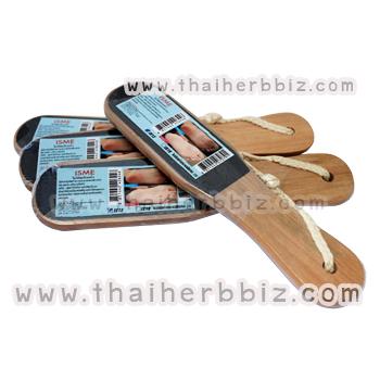 ไม้ขัดส้นเท้า อิสมี ISME Wooden Foot Scrubber